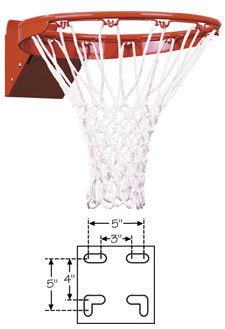 First Team FT186 Basketball Rim
