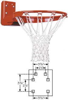 First Team FT187R Basketball Rim