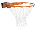 Lifetime Slam-it Pro Basketball Rim & Net (Orange)